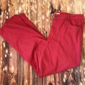 Coldwater Creek coral pants